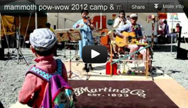 Mammoth Pow-Wow 2012 紹介ムービー