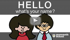 Mammoth English | Names