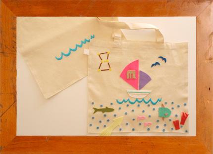 11.17(日) シップス×マンモススクール 船のバッグをつくろう @ うめだ阪急