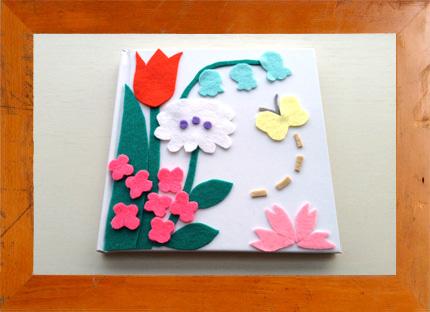 3.22(土) 美術家・神尾茉利さんとフェルトでノートに花をえがこう|マンモススクール開校 @ 西宮阪急