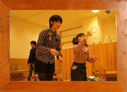 3.28(土) Yumi Nakamura × mammoth 親子でけん玉に挑戦!@ 西宮阪急