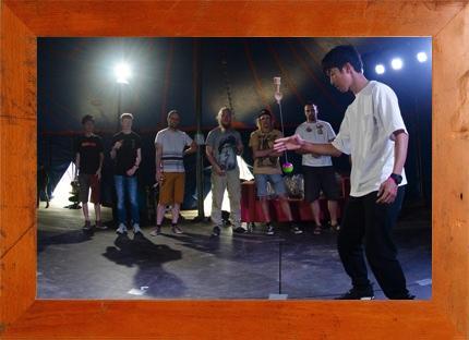 4.1(土) Takaharu Mikami × mammoth 親子でけん玉に挑戦しよう @ 西宮阪急