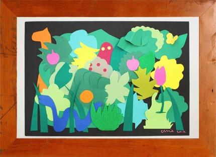 4.1(土) Chie Tanaka ×mammoth ファインペーパーで空想の森をつくろう @ 西宮阪急