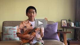【ビデオ】ウクレレをひいてみよう!「森のくまさん」|KAMAKA #015